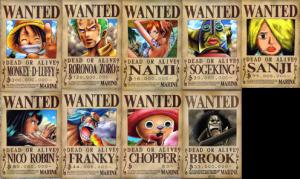 Bounty Poster yang tersedia